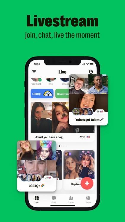 Yubo : Make friends & Go live