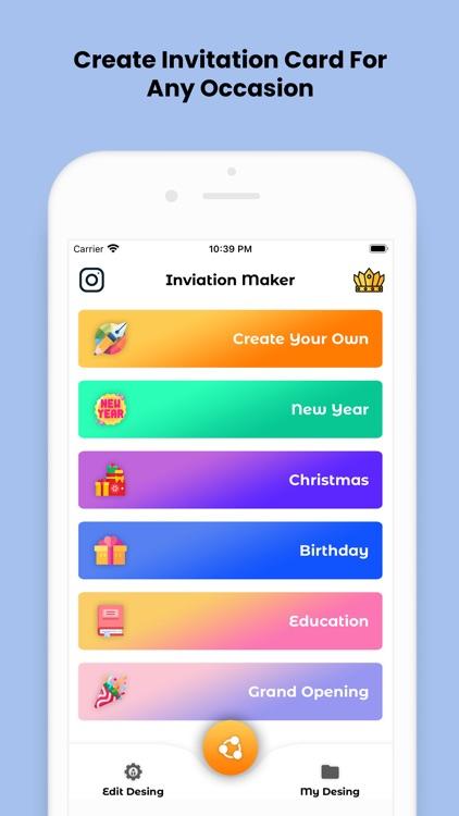 Invitation Card Maker (RSVP)