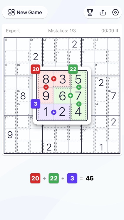 Killer Sudoku - Puzzle Games