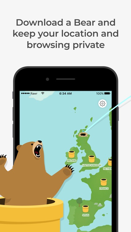 TunnelBear: Secure VPN & Wifi screenshot-0