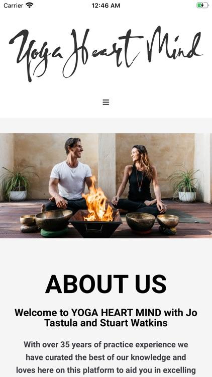 Yoga Heart Mind App