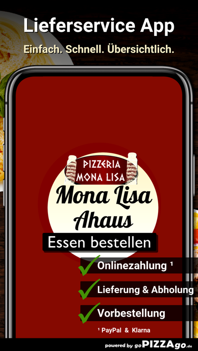 Pizzeria Mona Lisa Wessum screenshot 1