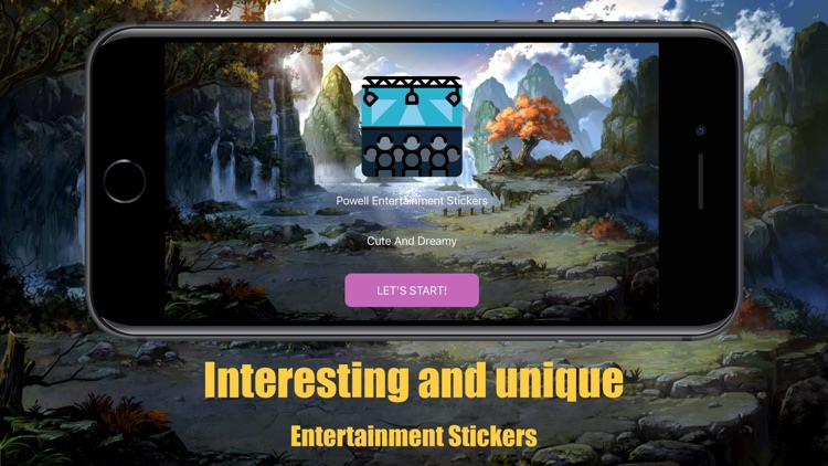 Powell Entertainment Stickers