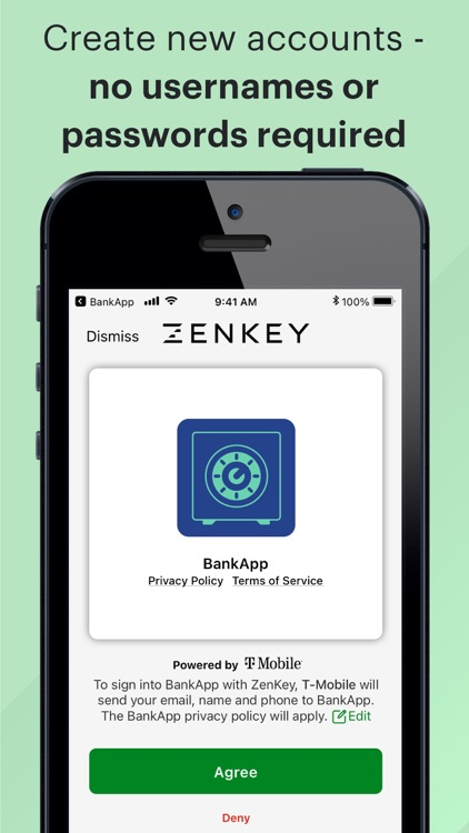 ZenKey Powered by T-Mobile