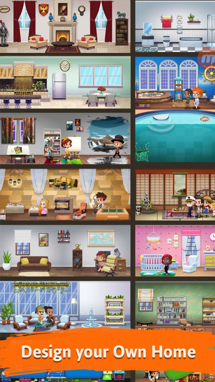 Pocket Family - My Dream House screenshot-0