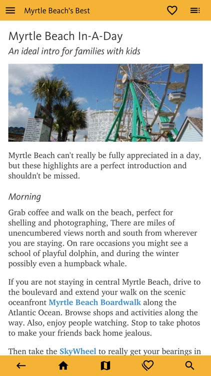 Myrtle Beach's Best Travel App screenshot-2