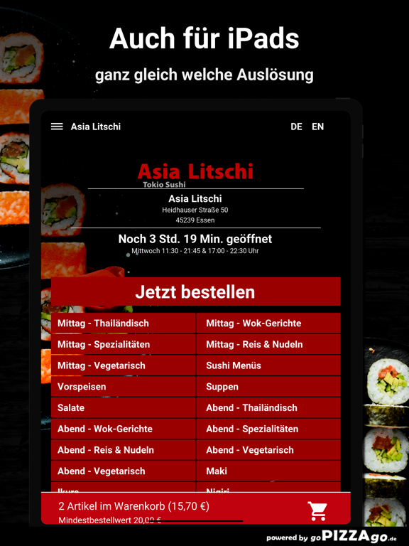 Asia Litschi Essen screenshot 7