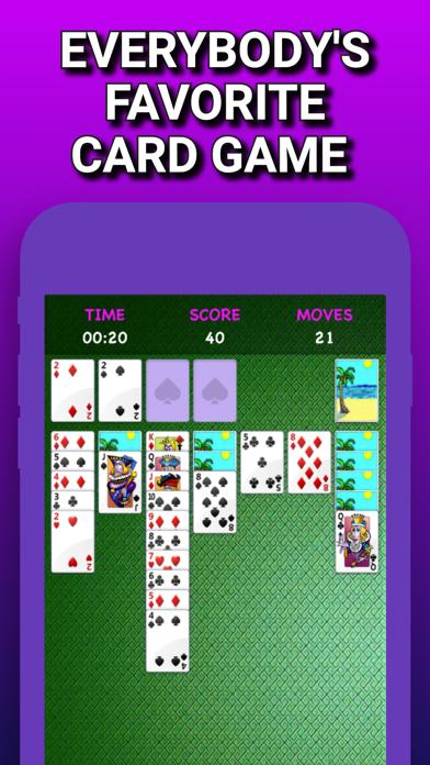 クラシックソリティア2021:シンプルなカードゲーム広告なし紹介画像3