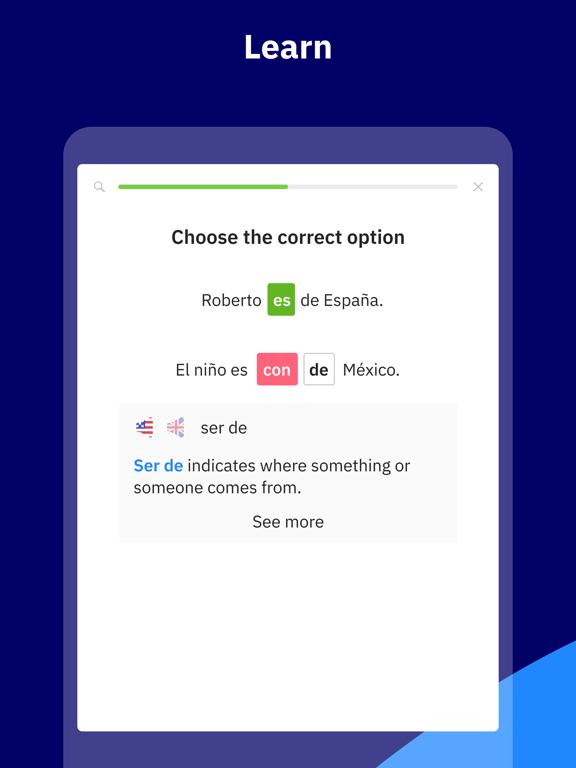 Learn Spanish with Wlingua screenshot