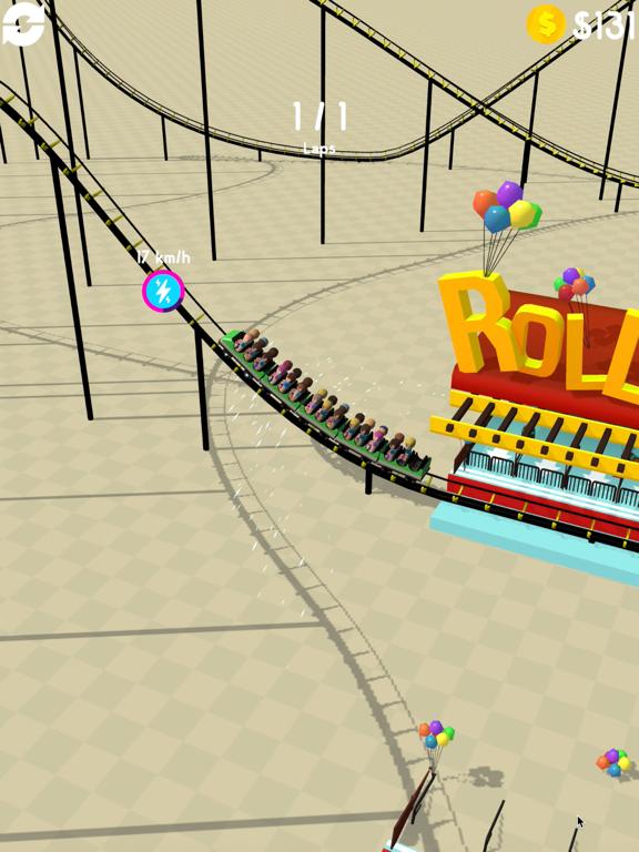 Hyper Roller Coaster screenshot 8