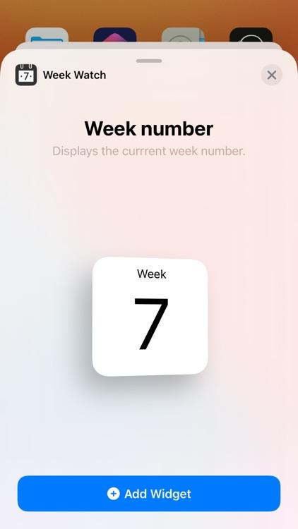 Week Watch