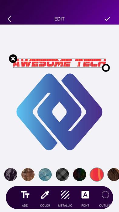 ロゴメーカー ロゴデザインロゴ作成 ロゴデザインのスクリーンショット1