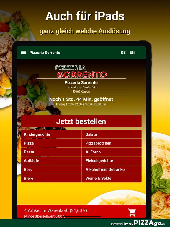Pizzeria Sorrento Kerpen screenshot 7