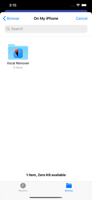 ‎Vocal Remover for Karaoke Screenshot