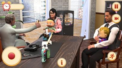 双子の新生児保育ゲーム紹介画像1