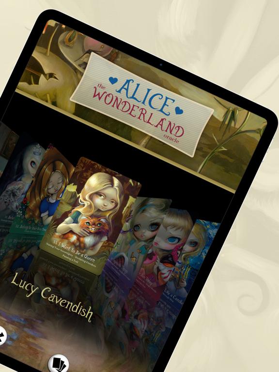 Ipad Screen Shot Alice: The Wonderland Oracle 2