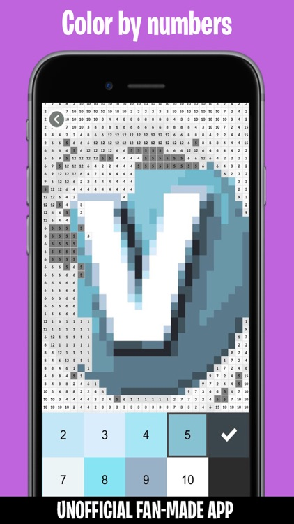 Pixels from Fortnite