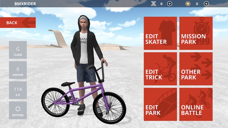 BMX Space screenshot-5