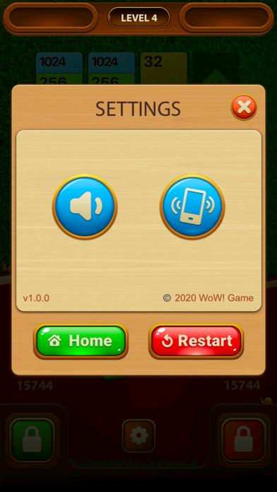 WoW 2048 screenshot 1