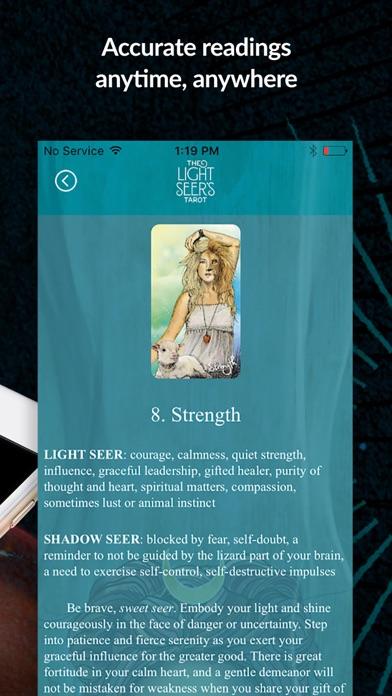 The Light Seer's Tarot screenshot 5