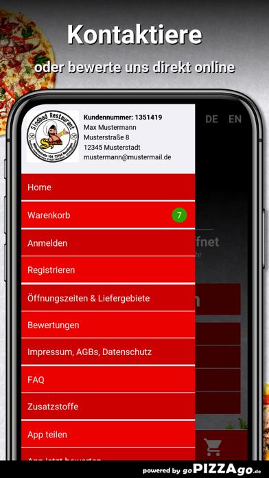 Sindbad Restaurant Reutlingen screenshot 1