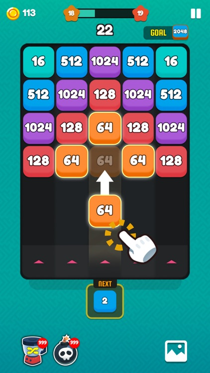 Number Shoot - Merge Puzzle