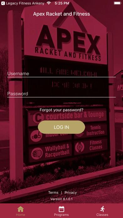 Apex Racket and Fitness screenshot 2