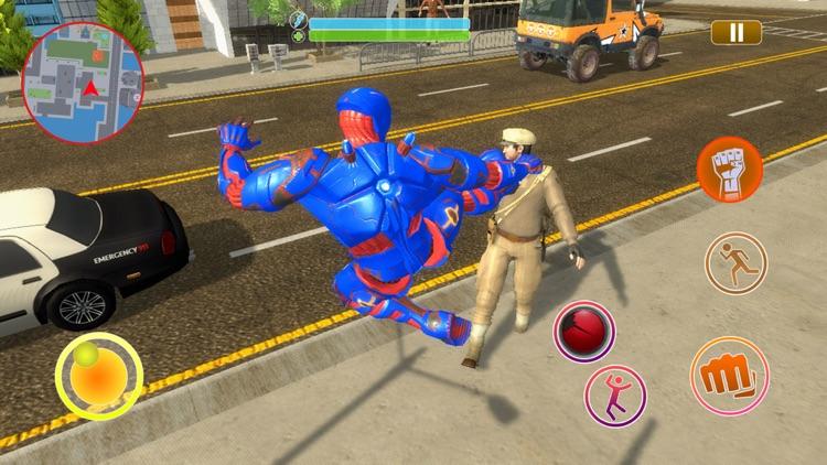 Robot Rope Hero : Web Shooter screenshot-3