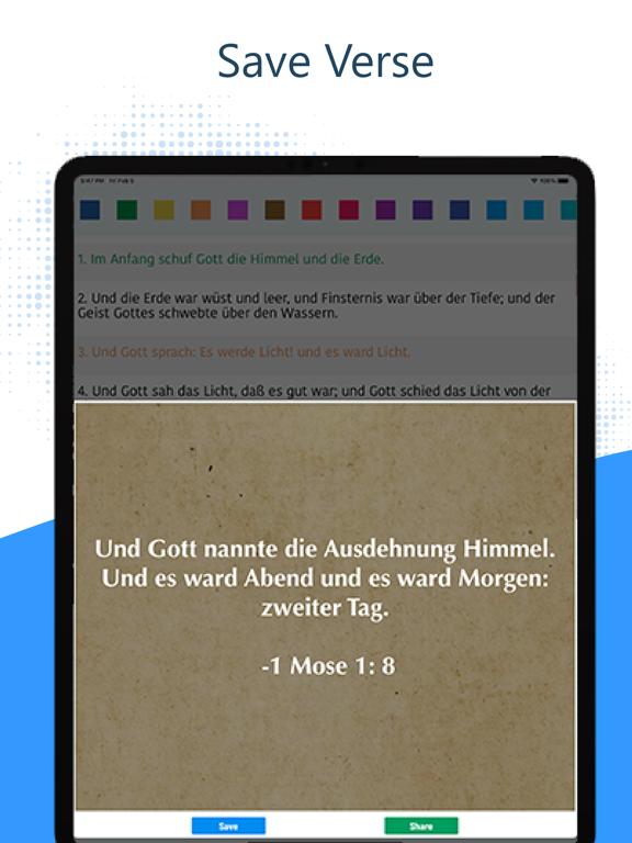 Deutsch Luther Bibel 1912 Pro iPad captures décran