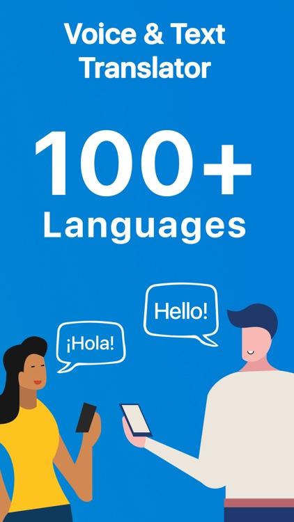Talk & Translate Translator screenshot-0