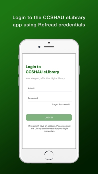 CCSHAU eLibrary screenshot 1
