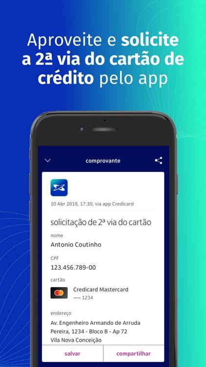 Credicard cartão de crédito screenshot-7
