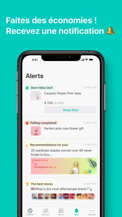 Screenshot #3 pour WishUpon - Wishlist Shopping