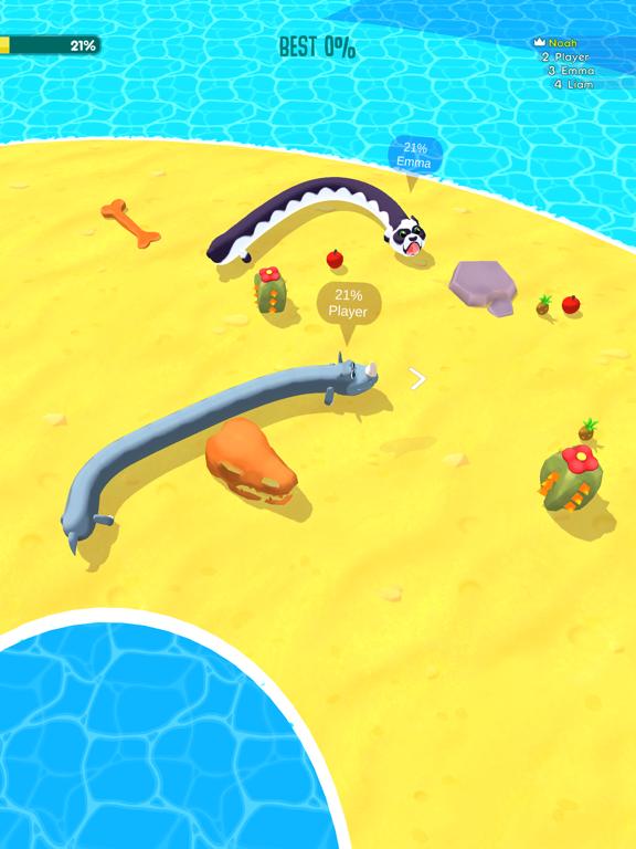 Snake Arena 3D: Battle Rivals! screenshot 7