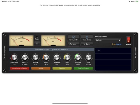 Drum Surgeon AUv3 Plugin screenshot 3