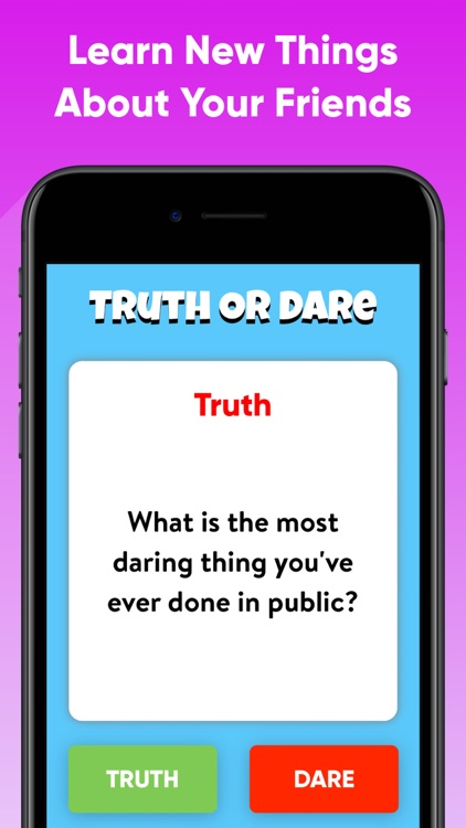 Truth Or Dare? - Group Game