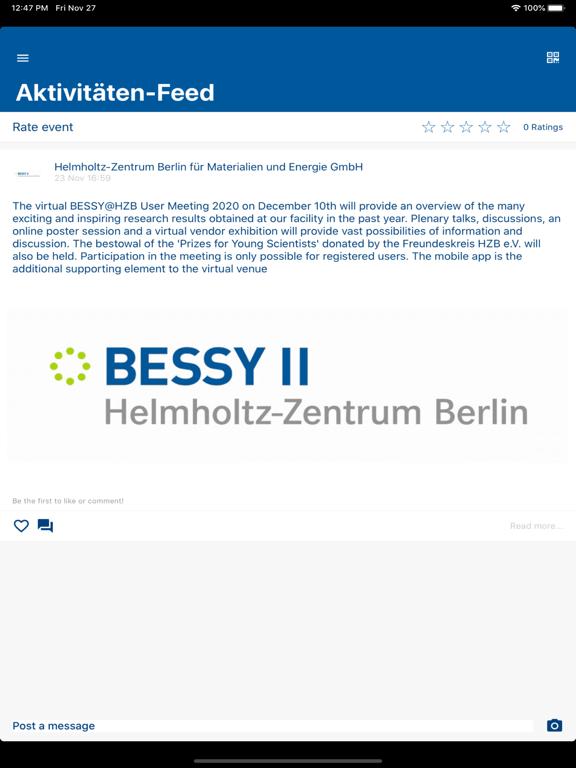 BESSY@HZB User Meeting 2020 screenshot 12