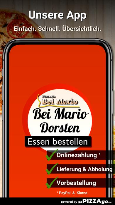Pizzeria Bei Mario Dorsten screenshot 1