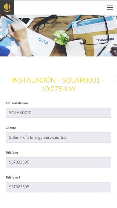 Solar Profit - Portal ClienteCaptura de pantalla de4