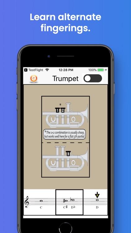 Trumpet Fingering & Tuning screenshot-3