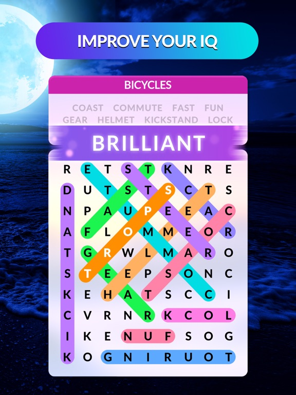 iPad Image of Wordscapes Search