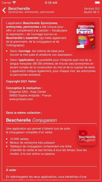 Bescherelle Synonymes screenshot-8