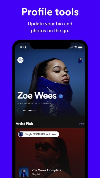 Spotify for Artists screenshot-3