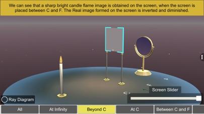 Concave mirror properties screenshot 7