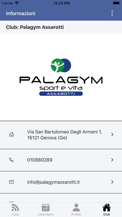 Palagym Assarotti screenshot 1