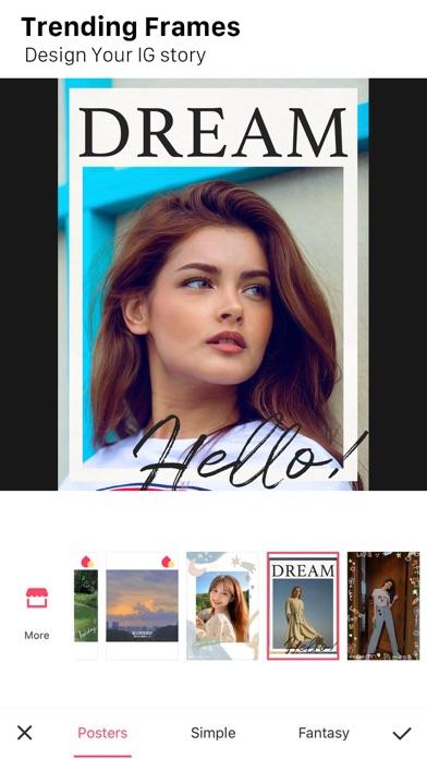 Meitu iphone ekran görüntüleri