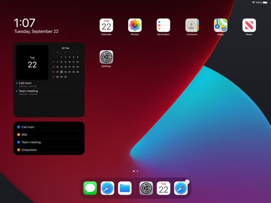 Widget Calendar Screenshots