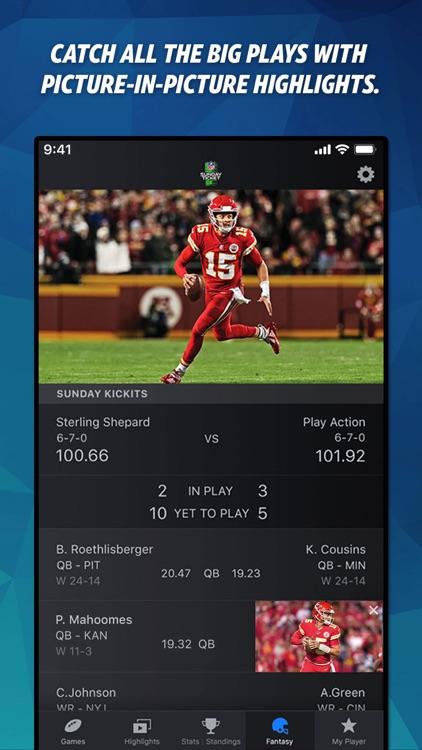 NFL SUNDAY TICKET screenshot-5