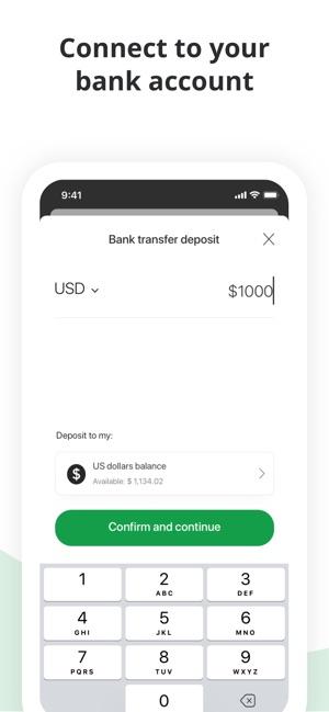 Bitstamp Crypto Exchange App
