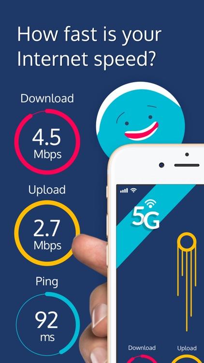 Internet Speed Test - Meteor screenshot-0